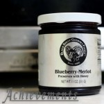 Blueberry Merlot Preserves with Honey